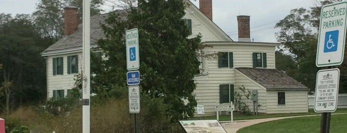 Seabrook-Wilson House (Spy House Museum) is one of Parks in Monmouth County.