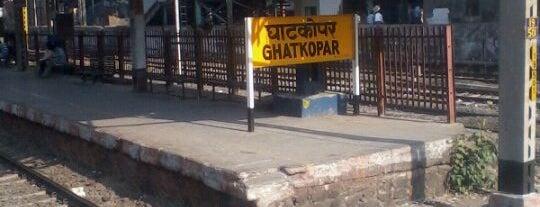 Ghatkopar Railway Station is one of Central Line (Mumbai Suburban Railway).