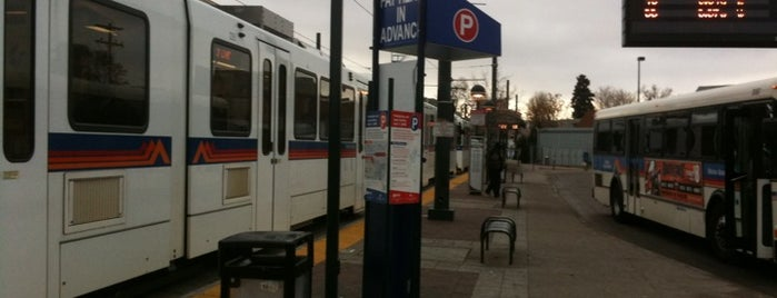 RTD Rail - 30th & Downing Station is one of In and Around Whittier, Denver.