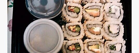 Maki Sushi is one of Places.