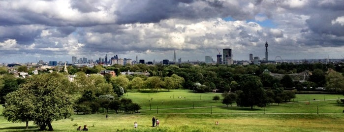 Primrose Hill is one of لندن.
