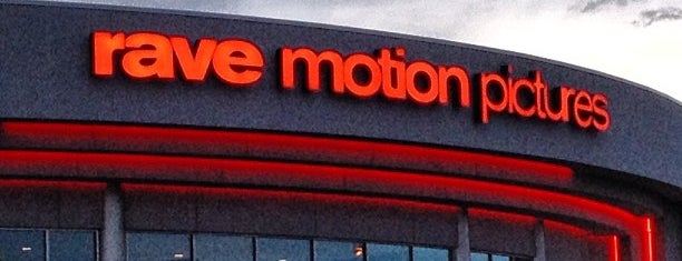 Rave Motion Pictures Ann Arbor 20 is one of สถานที่ที่ Joanna ถูกใจ.
