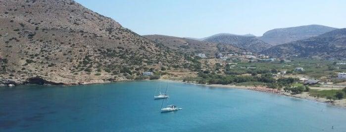 Galissas Beach is one of Συρος.