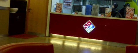 Domino's Pizza is one of Pizza Places ( Pizzaiolo Badge ).