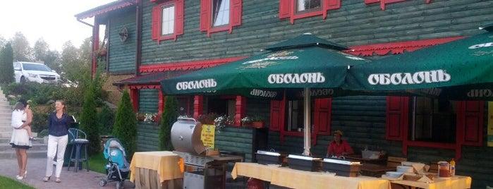"Авто-гриль ""Мисливець-Троєщина"" is one of Рестораны Киева / Restaurants (Kyiv)."