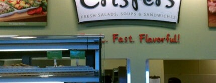 Crispers Fresh Salads, Soups and Sandwiches is one of Carrie's Hangouts.