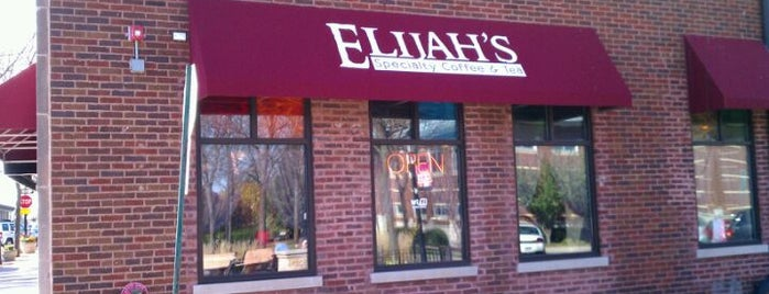 Elijah's Specialty Coffee & Tea is one of Lugares favoritos de Melissa.