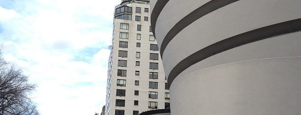 Solomon R Guggenheim Museum is one of NYC.