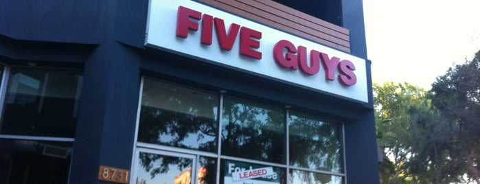 Five Guys is one of Online Ordering.