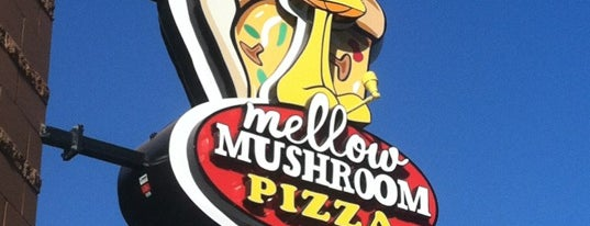 Mellow Mushroom is one of สถานที่ที่ Dan ถูกใจ.