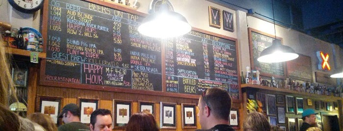 Russian River Brewing Company is one of Top 100 Bay Area Bars (According to the SF Chron).