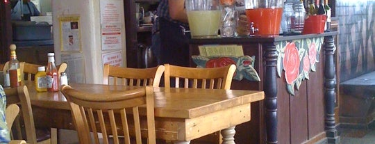 """Tune-Up Cafe is one of """"Diners, Drive-Ins & Dives"""" (Part 2, KY - TN)."""
