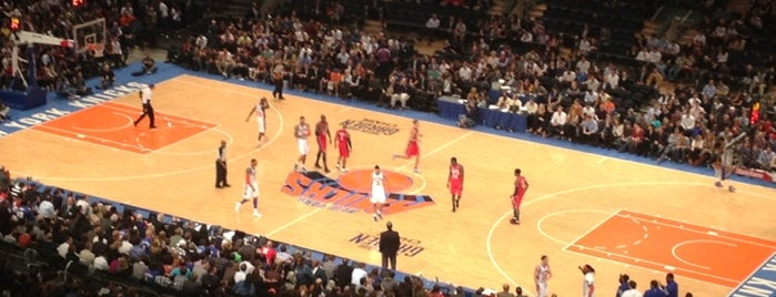 Madison Square Garden is one of Great Sport Locations Across United States.