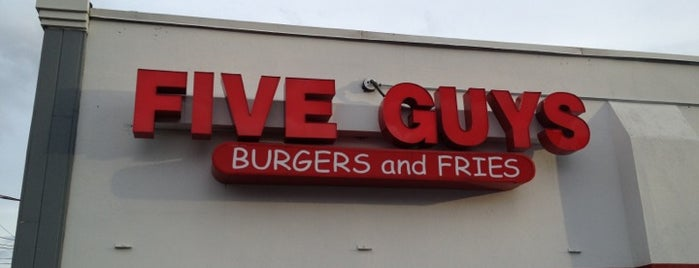 Five Guys is one of Someday when traveling.