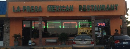 La Presa Mexican Restaurant is one of Spring Eat Spots.