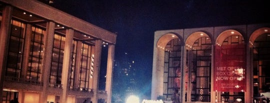 Lincoln Center is one of Best Places in NYC.
