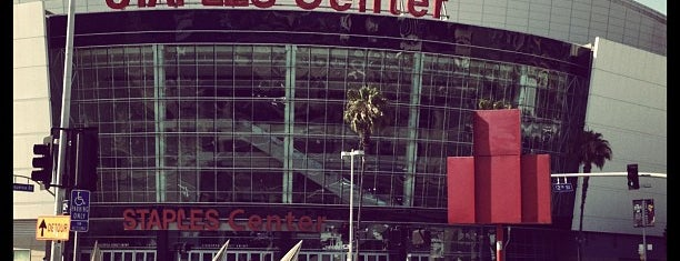 STAPLES Center is one of A Must! in Los Angeles = Peter's Fav's.