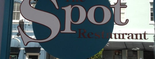 The Spot Restaurant is one of Bermuda.