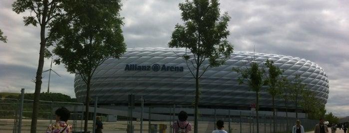 Allianz Arena is one of StorefrontSticker #4sqCities: Munich.