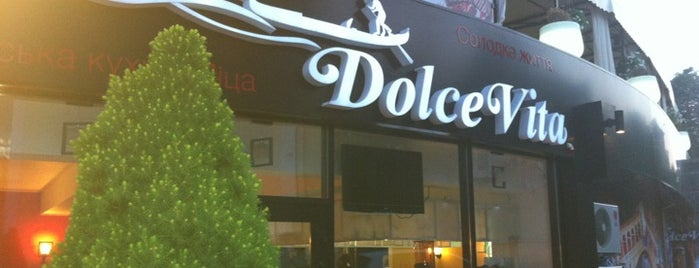 Dolce Vita is one of Locais curtidos por Vitalii.