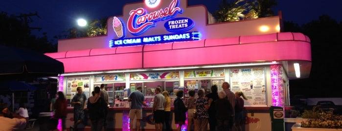 Carousel Frozen Treats is one of Must-visit Food in Warrenton.
