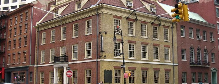 Fraunces Tavern Museum is one of May.