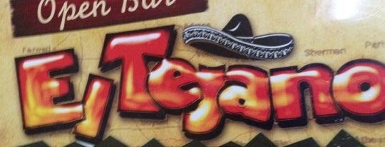 El Tejano Mexican Restaurant is one of Gabriela 님이 저장한 장소.