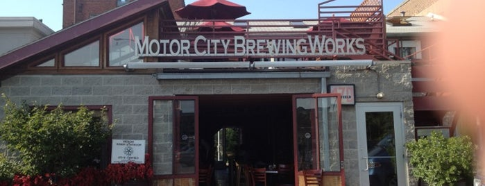 Motor City Brewing Works Inc is one of Lugares favoritos de Carmen.