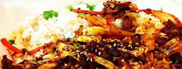 Bulkogi Korean BBQ is one of Cash Only.