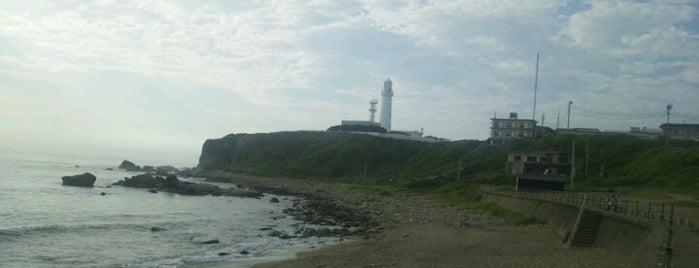 君ヶ浜海岸 is one of 日本の渚百選.