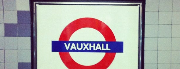 Vauxhall London Underground Station is one of Railway stations visited.