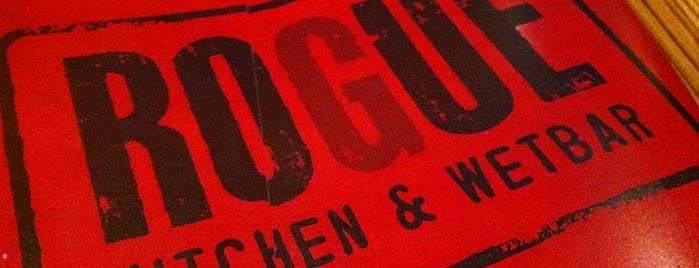 Rogue Kitchen & Wetbar is one of Lugares favoritos de Mike.