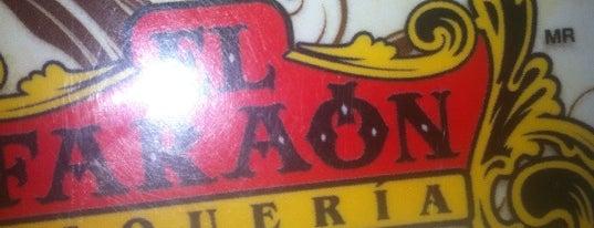 El Faraón is one of Top 10 de las mejores taquerías del DF.