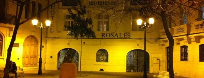 Plaza Rosales is one of Lugares, plazas y barrios de Santiago de Chile.