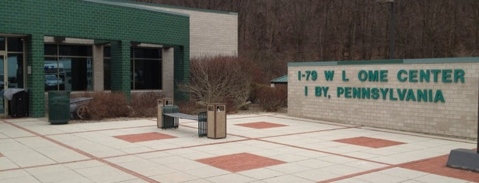 I-79 NB Pennsylvania Welcome Center is one of สถานที่ที่ Emily ถูกใจ.