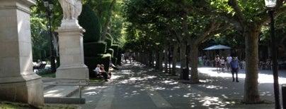 Paseo del Espolón is one of Burgos.