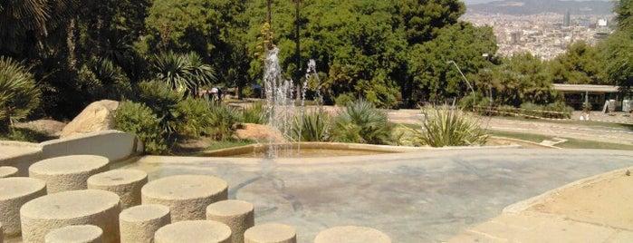 Jardins de Joan Brossa is one of MOB - Weekends for fun.