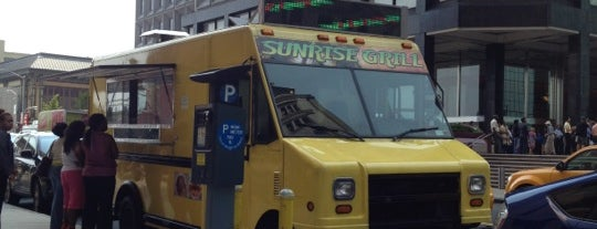 Sunrise Grill is one of New York III.