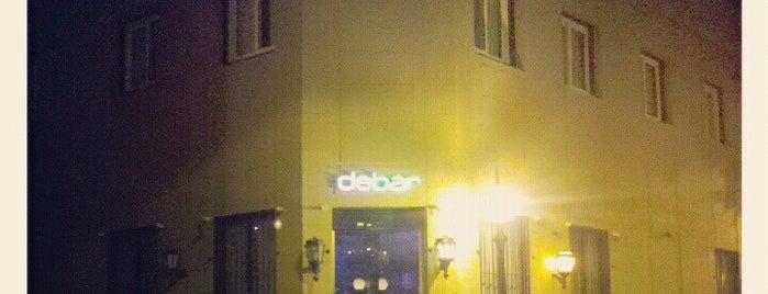 debar is one of San Telmo.