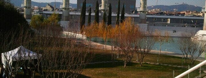 Parc de l'Espanya Industrial is one of Barcelona.