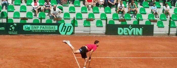 """Национален Тенис Център """"Академик"""" is one of Locais curtidos por Zorata."""
