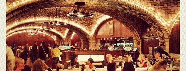 Grand Central Oyster Bar is one of the happiest hour.