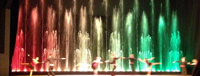 Цирк танцующих фонтанов «Аквамарин» is one of children's menu.