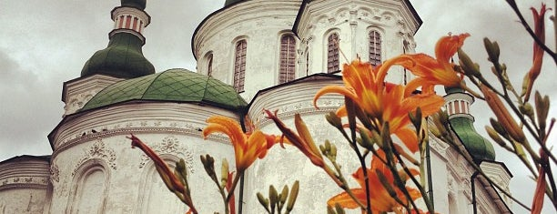 Кирилівська церква / St. Cyril's Church is one of Andriyさんのお気に入りスポット.