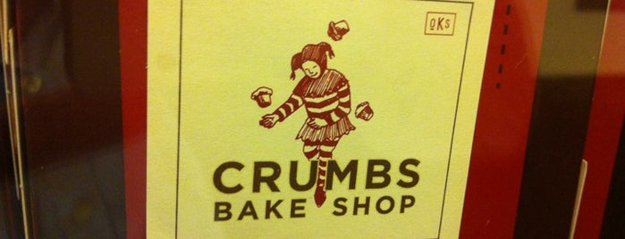 Crumbs Bake Shop is one of HOT SPOTS.