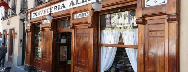 Cervecería Alemana is one of Madrid.