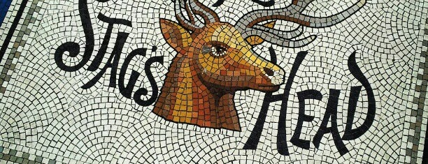 The Stag's Head is one of MY DUBLIN.