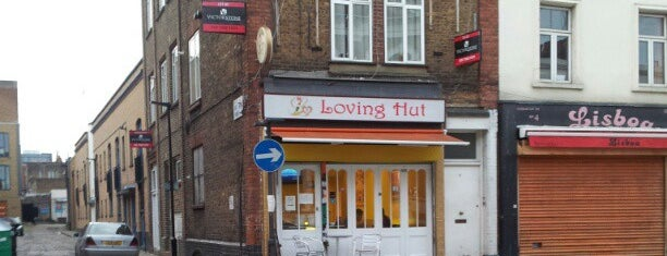 Loving Hut is one of Veggie food places to try.