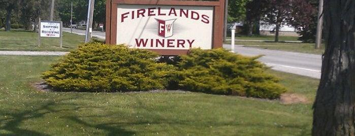 Firelands Winery is one of Orte, die Andrew gefallen.