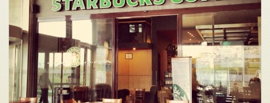 Starbucks is one of Cafe'ler.